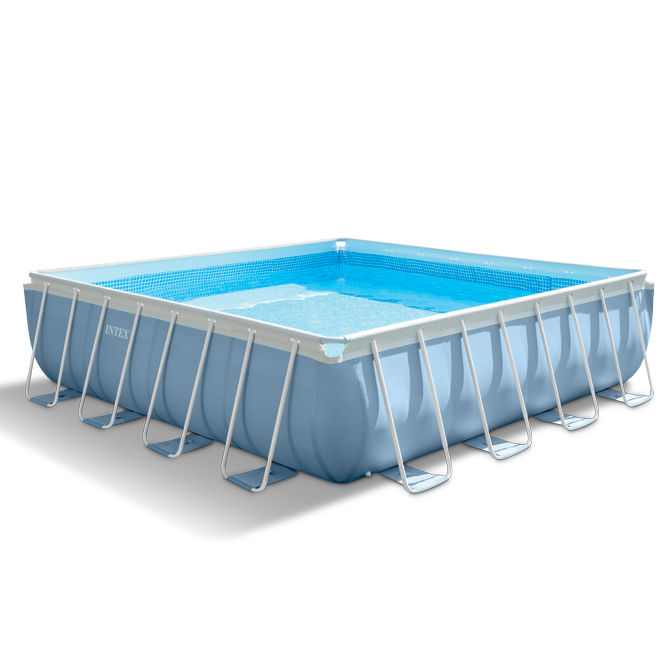 intex 28764np, piscina prisma quadra intex 28764np, piscina fuori terra intex 28764, piscina metal frame intex 28764,