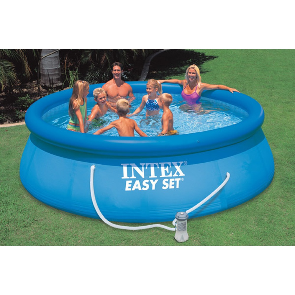 Piscina intex easy set 396 x 84 cm cu pompa filtru for Piscina intex easy set